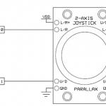 Arduino + ジョイスティック(可変抵抗)