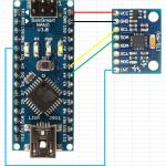 Arduino + 3軸加速度センサ + Processing シリアル通信
