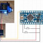 Arduino スレーブその2:サーボ