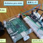 raspberry Pi A+ と Arduinoでシリアル通信