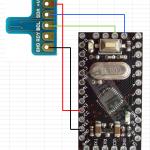 Arduino + 温度湿度センサHDC1000