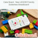 CakeBoard + LEGO