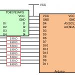 aitendo 4桁7セグとRTCでデジタル時計をつくってみた。